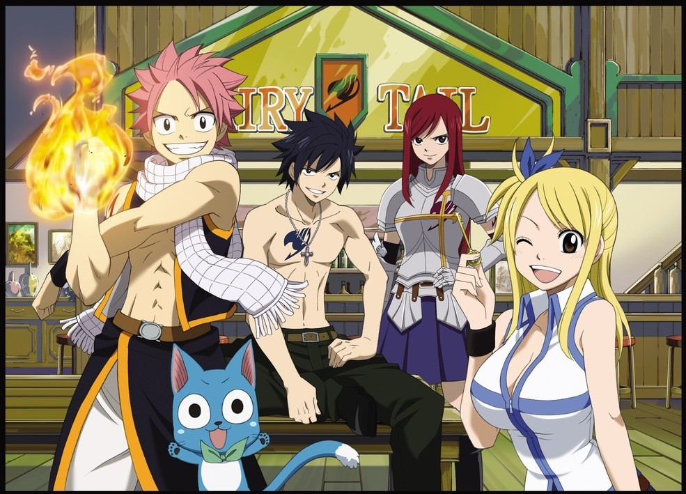 Fairy Tail Dice Magic