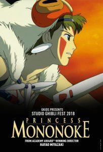 Princess Mononoke anime movies