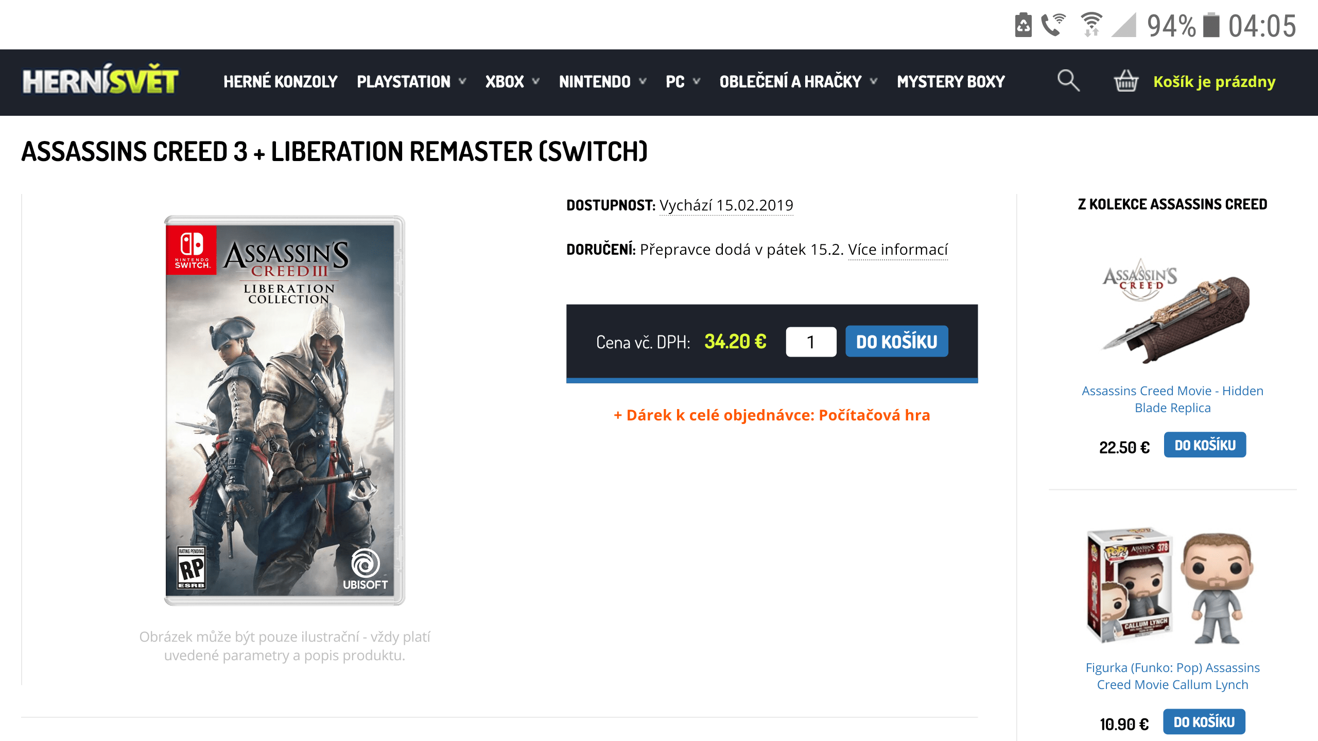 Leaked: Assassin's Creed III+Liberation Collection Coming Soon To Nintendo Switch