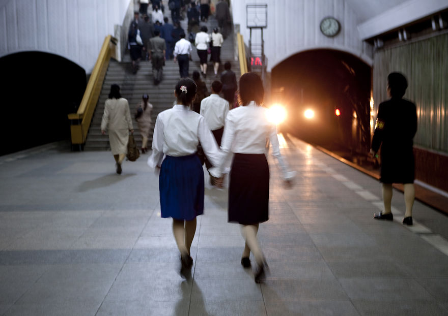 Photos Showing a Side of North Korea That Has Never Been Seen