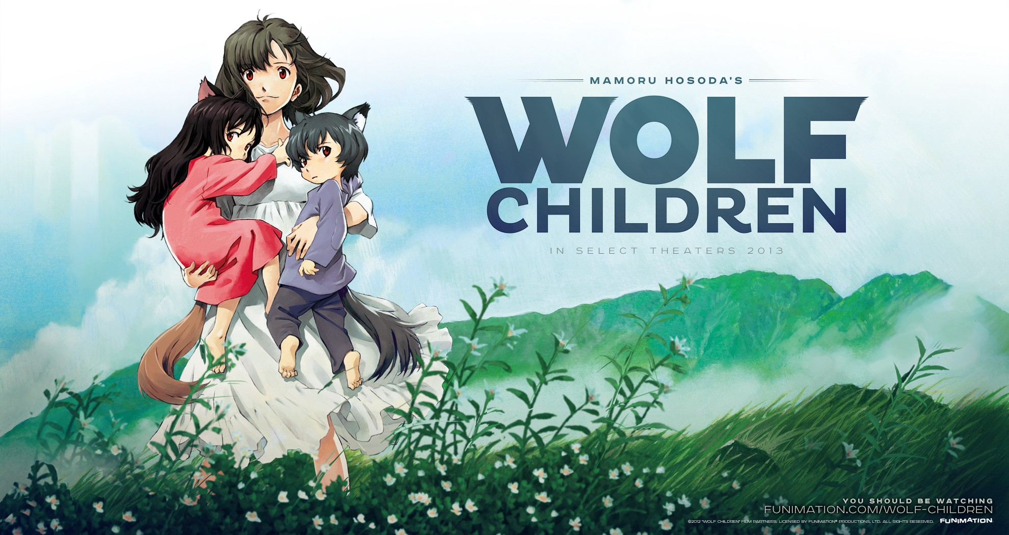 The Storyline of Wolf Children