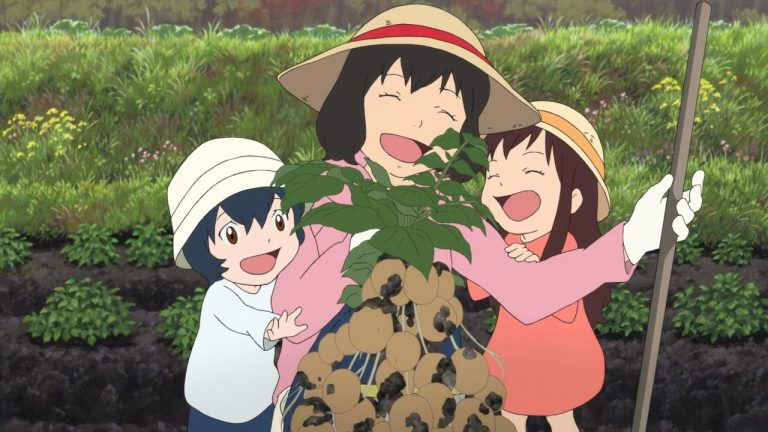 The Storyline of Wolf Children