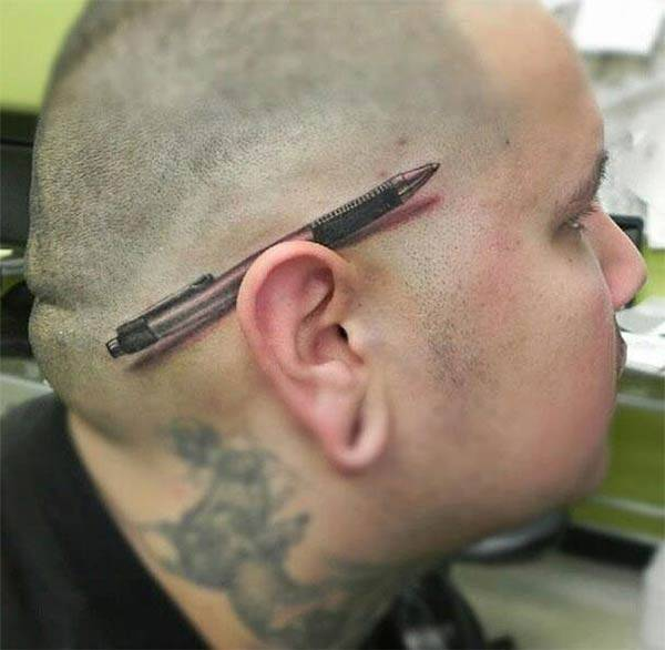 Check Out These 31 Bizarre Tattoos