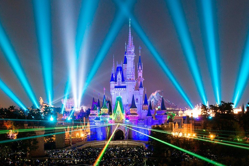 See the Largest Theme Parks in the World